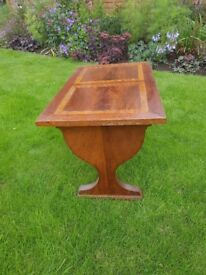 Pretty mahogany coffee table