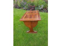 Pretty mahogany coffee table