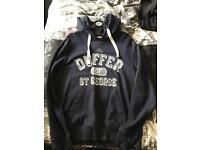 Navy Duffer hoody