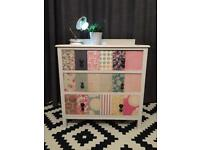 Bespoke Patchwork chest of drawers