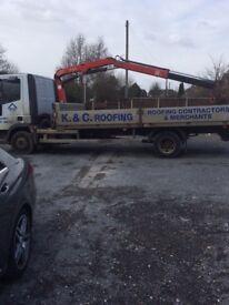 Ivceco cargo Hi-ab truck