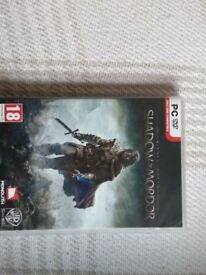 Shadow of Mordor PC Game, NEVER PLAYED.