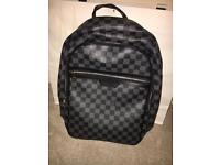 Black Louis Vuitton Bag Backpack Rucksack