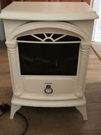 Cream electric stove