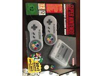 Mini snes Super Nintendo 21 built in games brand new in box