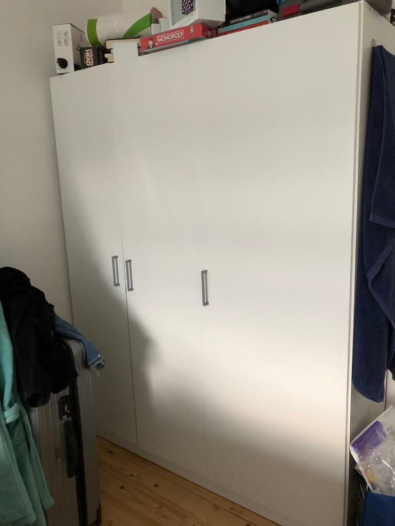 Ikea Dombås White Wardrobe In Edinburgh Gumtree