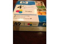£5 HP Ink Black 49 Cartridge