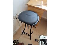 Kinsman Dual Guitar Stool and Stand