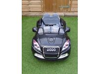 6v Audi ridon car