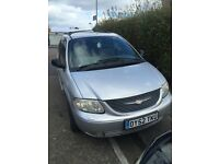 Chrysler Grand Voyager Limited Automatic 3.3 Petrol.