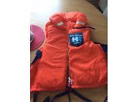 Helly Hanson life jackets