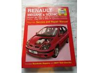 Haynes manual for renault scenic\megane