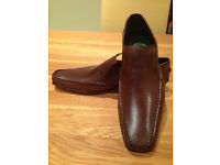 Jeffery West Dark Brown Men's Moccasins (UK10/EU44) (never worn)
