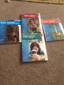AQA SCIENCE BOOK BUNDLE
