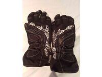 Ladies Richa motorcycle gloves size M hardly worn
