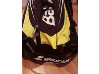 Babolat Aero 9 racquet tennis bag - as new