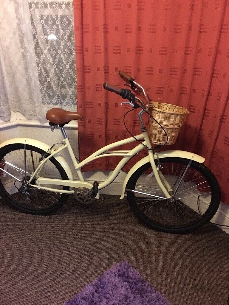 Vintage bicycle...brand new used few times