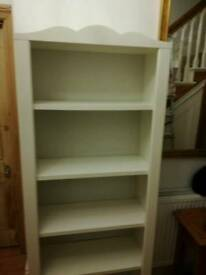 White shelving NOW SOLD