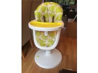 Cosatto 3Sixti Highchair - Pears - Great Condition