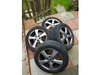 Honda civic wheels 205/55/R16