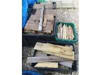 fire wood mostly dry. free