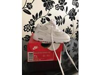 Air max 90 trainers, White size UK infant 6.5