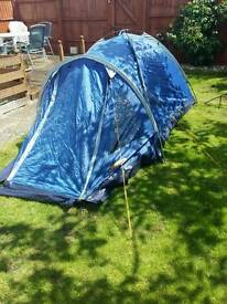 Two Man Tent and accessories