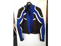 Frank Thomas motorcycle jacket.