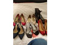 Size 6 and 7 mostly new shoes from a range of different shopss