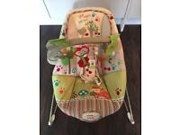 Fisher Price ' Happy Forest ' baby bouncer