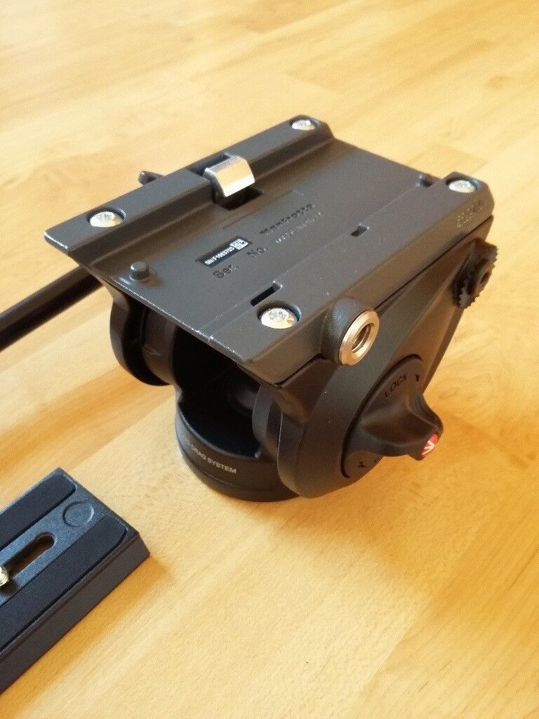 Manfrotto Mvh500ah Lightweight Fluid Video Head With Flat Base In