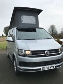 2016 VOLKSWAGEN T6 102BHP Highline Camper with air con, only 1K miles brand new campervan conversion