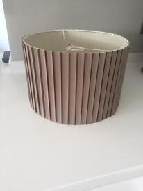 Taupe 30cm lampshade