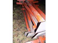 Large steel beams