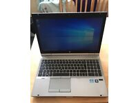 Hp elitebook 8560 laptop i5 quad core 8gb ram