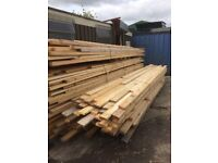 New treated timber