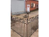Railings For Garden or decking approximately 3x3x240