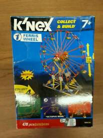 K'Nex collect and build ferris wheel
