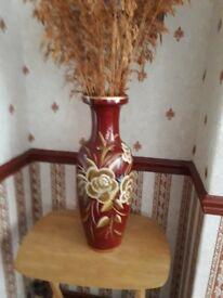"""23"""" brown vase"""