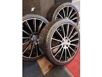 """2014 Mercedes C63/C220 AMG 19"""" Alloys & Tyres"""