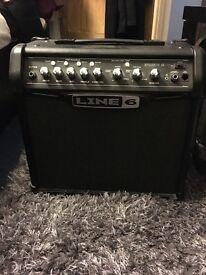 Line 6 IV 15 guitar amp