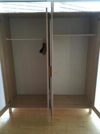 2 X IKEA double wardrobes