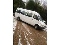 Mercedes sprinter disabled access minibus automatic twin wheel Low mileage