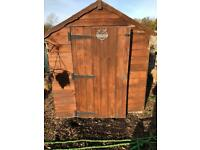8 x 6 feet Shed, one window missing, all could do with replacing £60