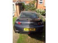 Mazda RX8 PZ, Full 12 Months MOT, Engine Rebuild, New Cat, Compression Tested, New Battery, New Tyre