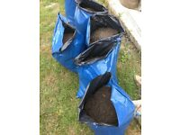 Garden Top Soil FREE IN BAGS from M33 great quality loamy topsoil