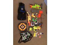Set Bundle of 7 NERF Guns / Pistols