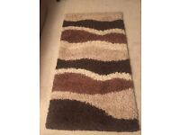 Rug . (Sombre Brown/Beige) as listed on back