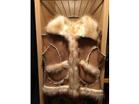 Faux Fur Gilet -Size 12
