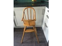 Wooden toddler chair , very good condition. £12
